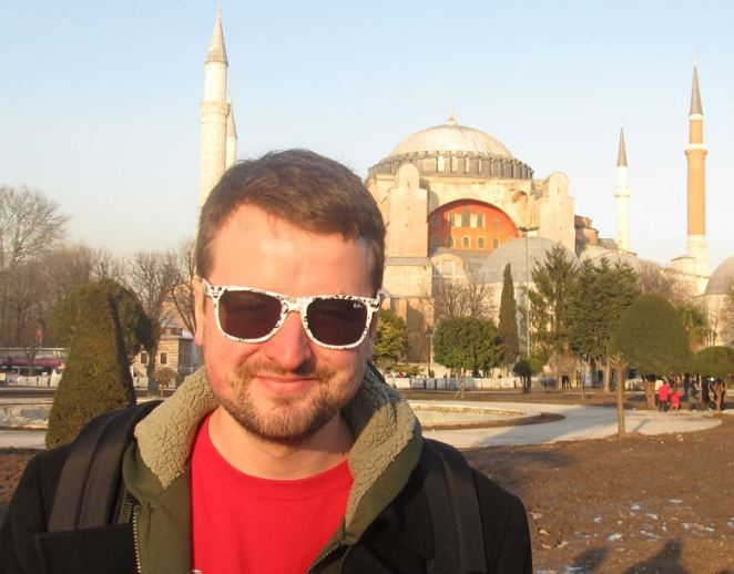 Couldn't think of a picture to put to this article so here's a picture of me in Istanbul.